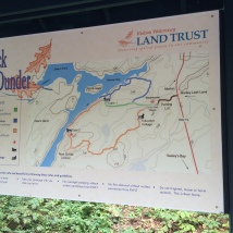 Rock Dunder trail options