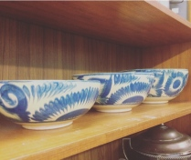 Ceramic serving bowls