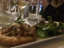 Butter Pastry Onion Tarte, Back Bacon Jam & Lankaster