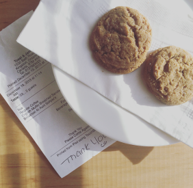 Toast and Jam cookies
