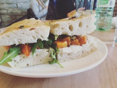 Squash on Fresh Focaccia. Say no more.
