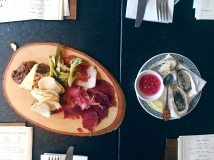 Charcuterie and Oysters