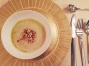 Black dog Hospitality parsnip soup
