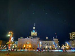 Downtown Kingston Light Installation